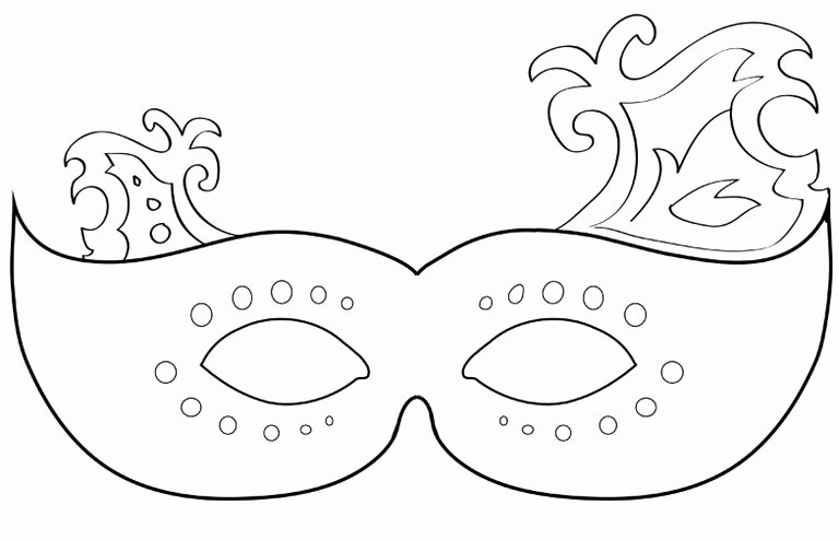 Masquerade Mask Template Printable Best Of Free Printable Masquerade Mask Templates Free Clipart