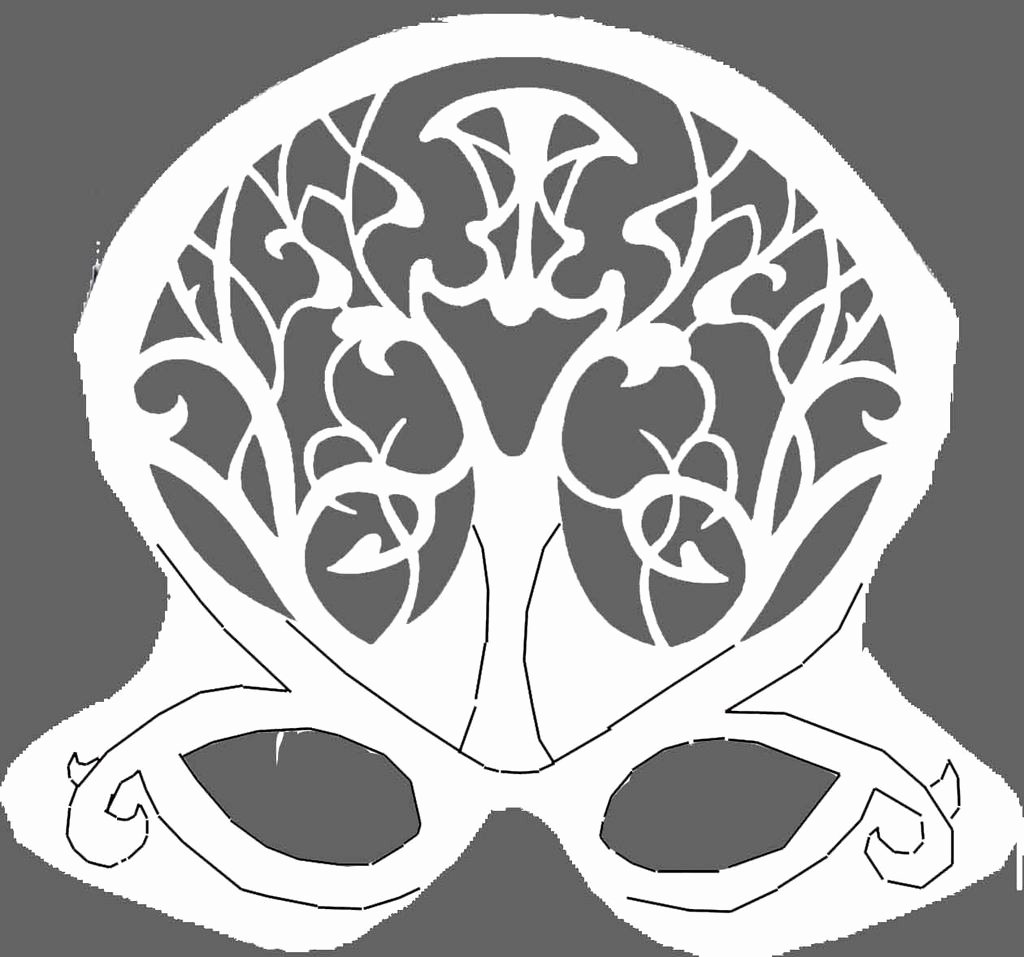 Masquerade Mask Template Printable Best Of Octopus Mask