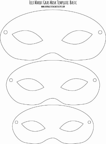 Masquerade Mask Template Printable Elegant Drawn Masks Felt Mask Pencil and In Color Drawn Masks