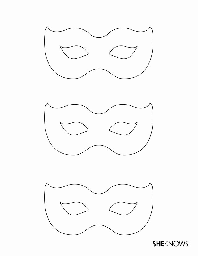 Masquerade Mask Template Printable Fresh 25 Best Ideas About Mask Template On Pinterest
