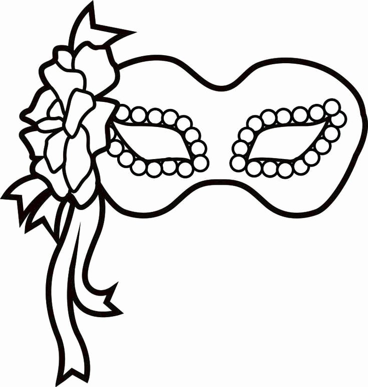 Masquerade Mask Template Printable Fresh Best 25 Mardi Gras Mask Template Ideas On Pinterest