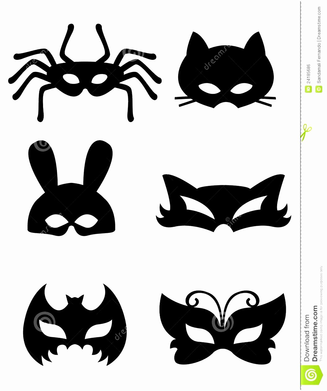 Masquerade Mask Template Printable New 10 Printable Masquerade Masks Templates Ueeoy
