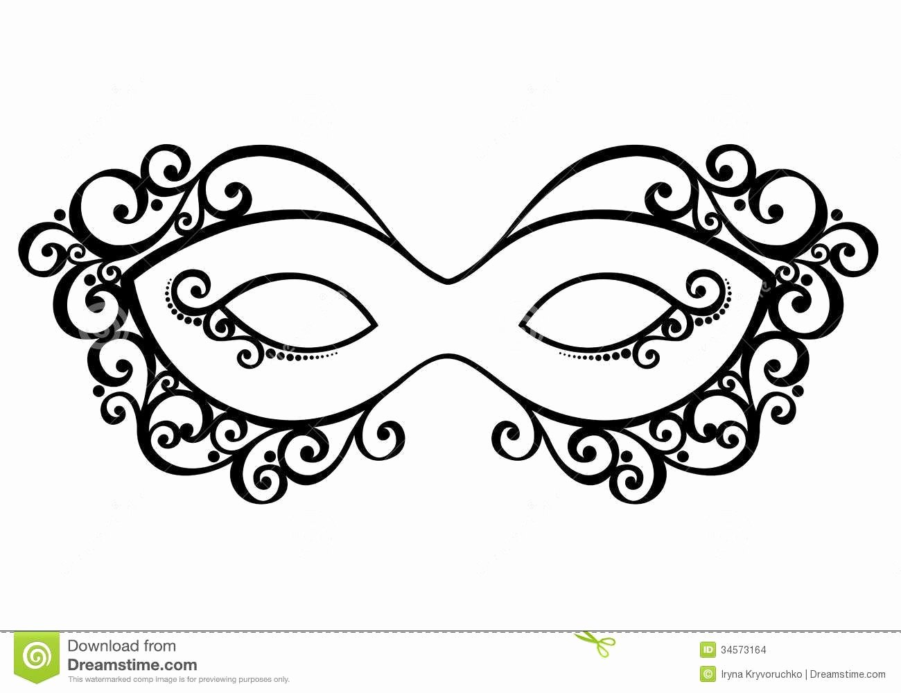 Masquerade Mask Template Printable New Masquerade Mask Download From Over 30 Million High