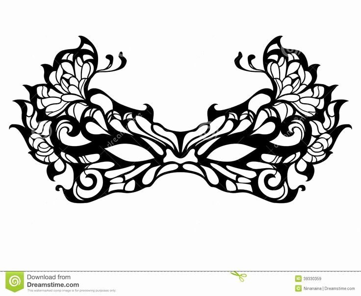 Masquerade Mask Template Printable New Masquerade Mask Template