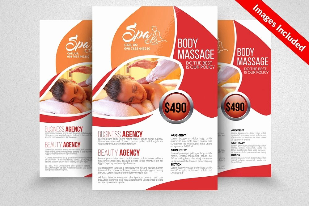Massage Flyer Template Free Awesome 30 Free Massage therapy Flyer Template Template Site