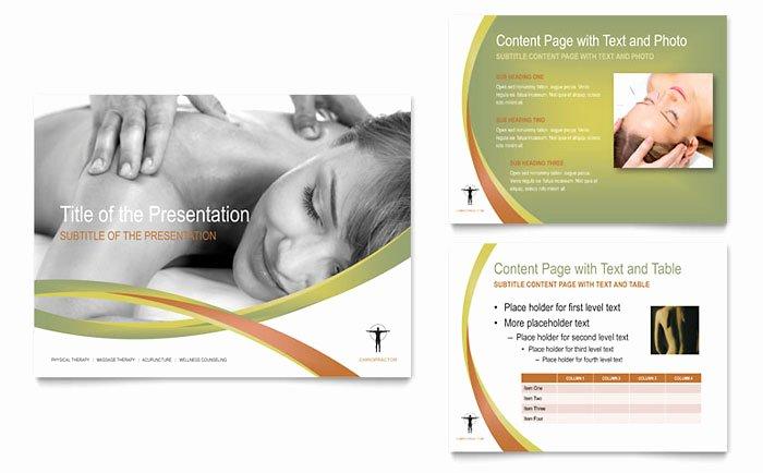 Massage Flyer Template Free Best Of Massage & Chiropractic Powerpoint Presentation Template Design