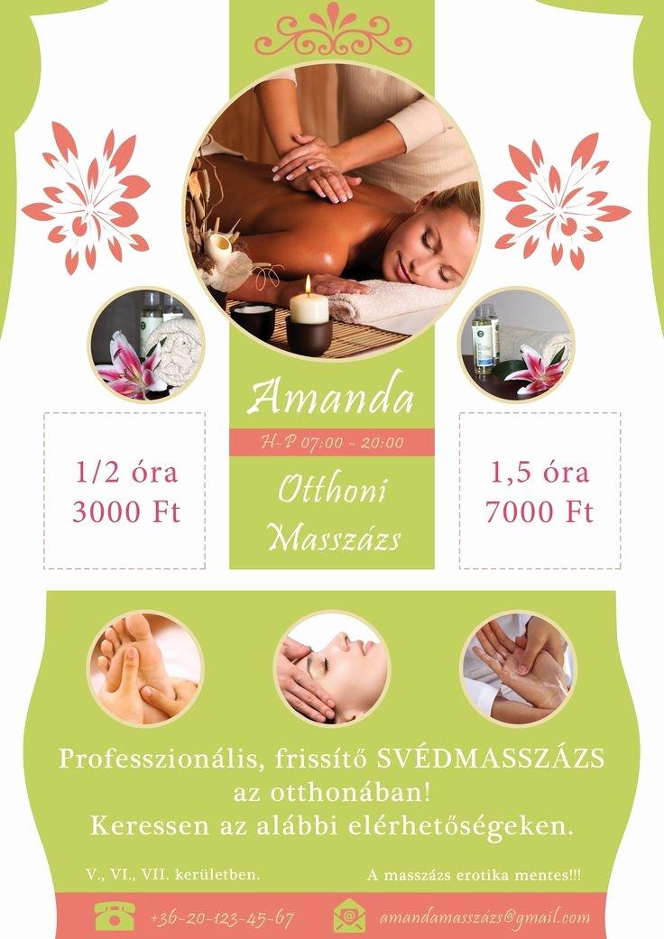 Massage Flyer Template Free Elegant 25 Best Images About Massage Flyer On Pinterest