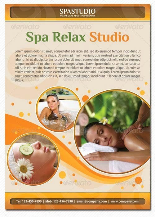 Massage Flyer Template Free Fresh 42 Best Images About Spa Ad Flyer On Pinterest