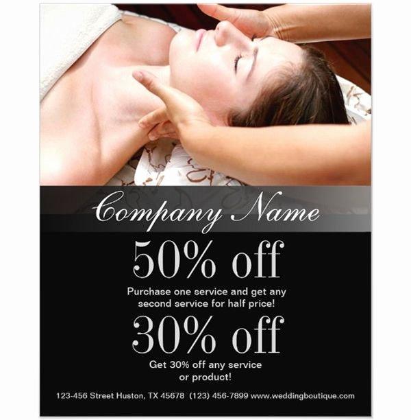 Massage Flyer Template Free Fresh 66 Beauty Salon Flyer Templates Free Psd Eps Ai