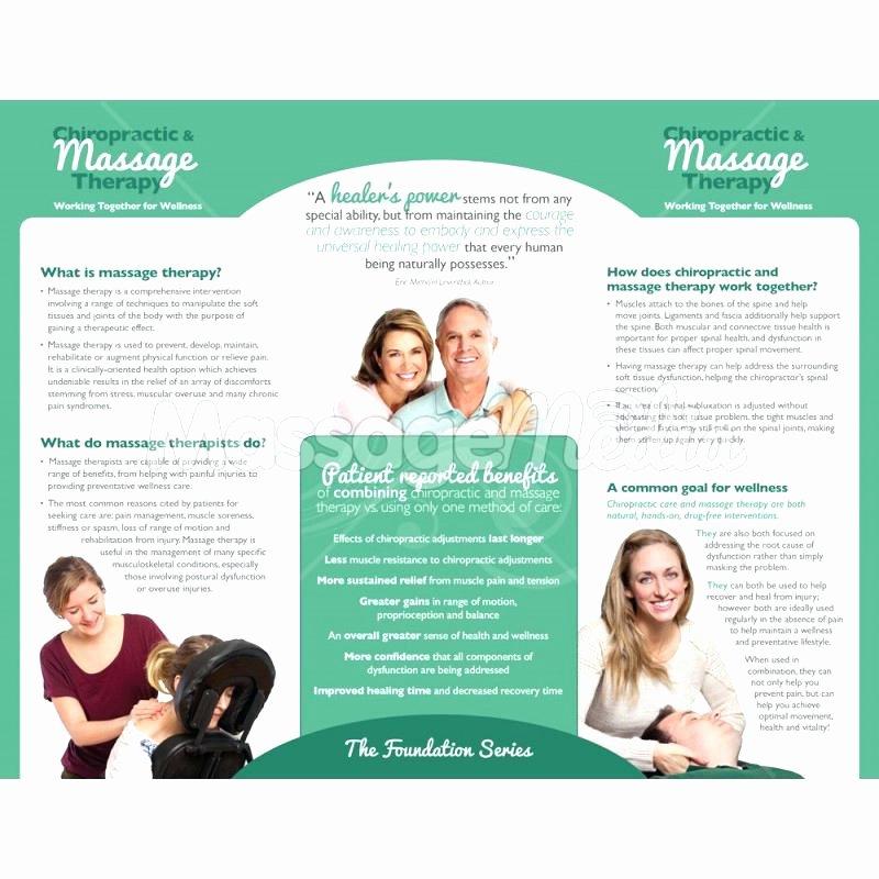 Massage Flyer Template Free New Spa Treatment Brochure Template Massage Flyer Free