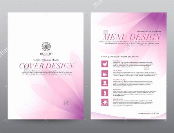 Massage Flyer Template Free Unique 16 Massage Brochures Psd Eps format Download