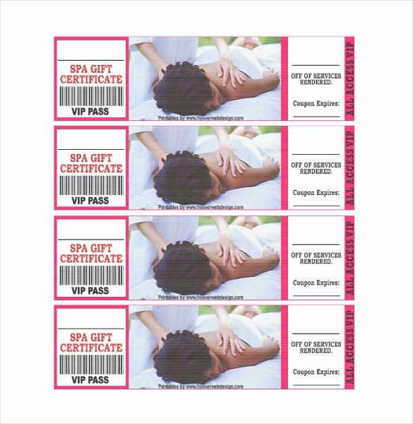 Massage Gift Certificate Template Inspirational Gift Certificate Template – 34 Free Word Outlook Pdf