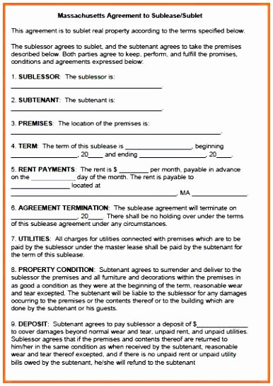 Master Lease Agreement Template Beautiful 9 Master Lease Agreement Template Owaip