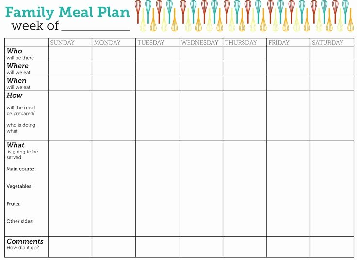 Meal Plan Calendar Template Beautiful the 25 Best Meal Plan Templates Ideas On Pinterest