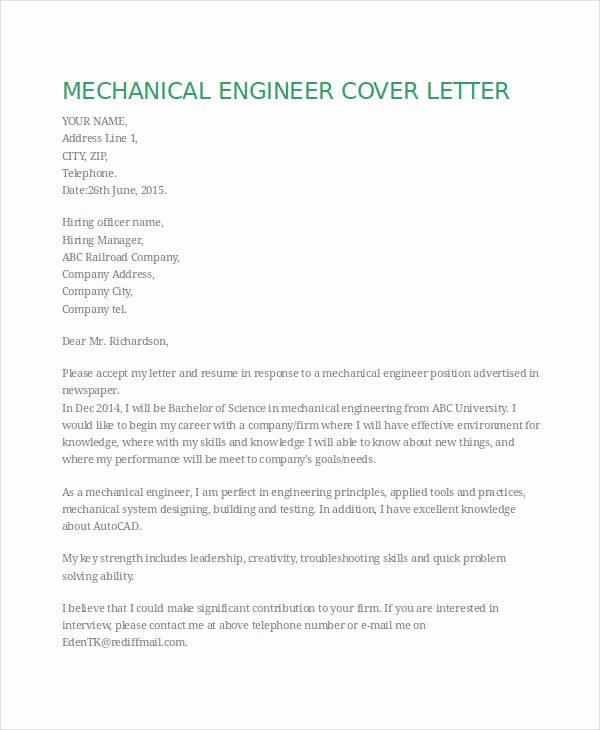 Mechanical Engineer Resume Template Best Of Free Engineering Resume Templates 49 Free Word Pdf