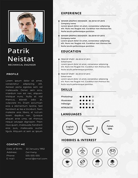 Mechanical Engineering Resume Template Best Of 10 Mechanical Engineering Resume Templates Pdf Doc
