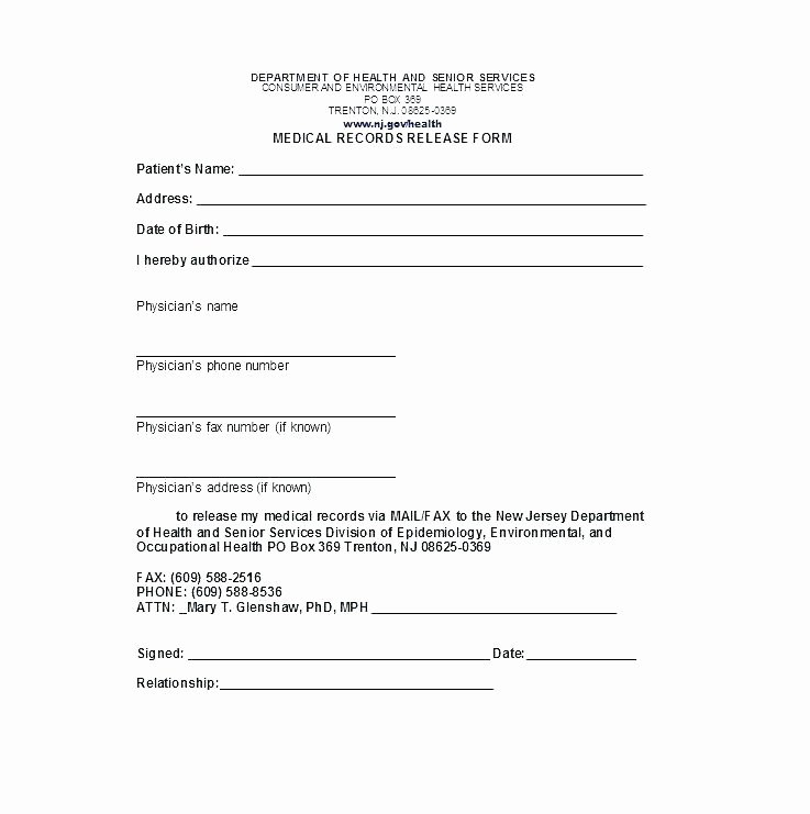 Media Release form Template New Consent Video Release form Template for Minors Sample