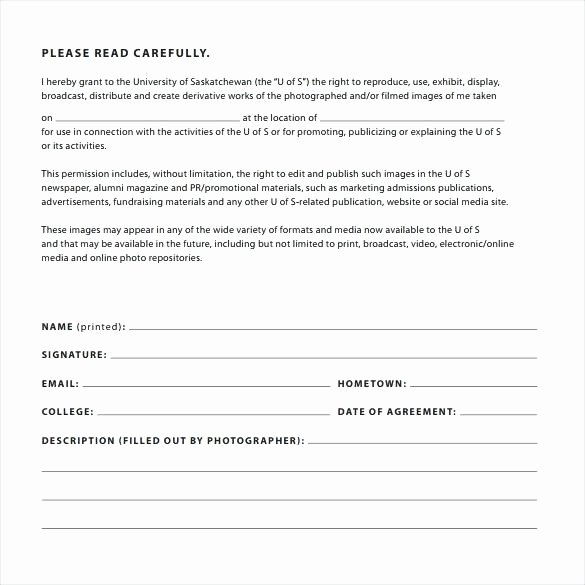 Media Release forms Template Awesome Media Consent form Template Examples Dentist social ask