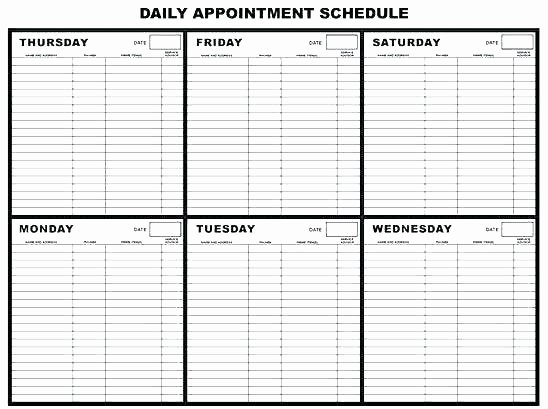 Medical Appointment Scheduling Template Elegant Doctor Schedule Template – Maney