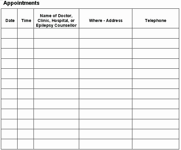 Medical Appointment Scheduling Template Lovely Beautiful Medical Appointment Scheduling Template Graphics