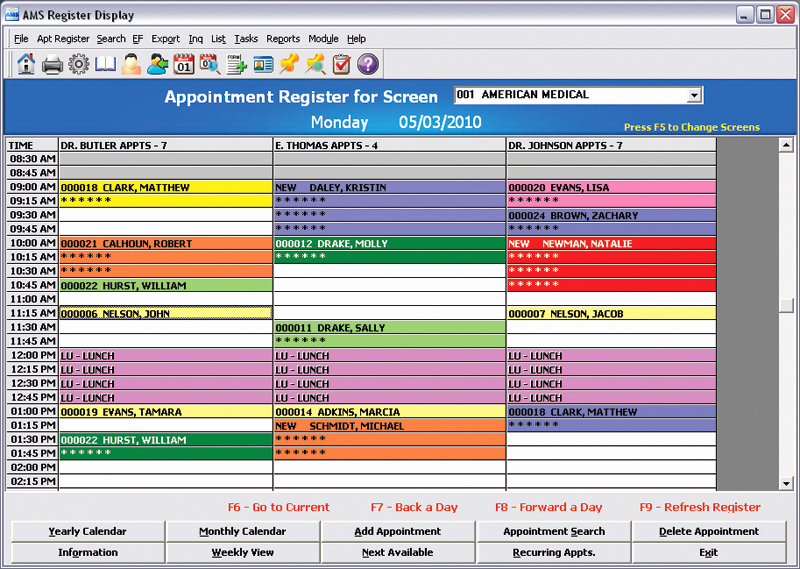 Medical Appointment Scheduling Template New Appointment Scheduling with Open Encounter Tracking