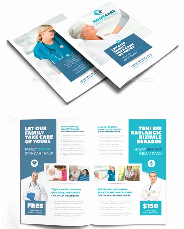 Medical Brochure Template Free Beautiful 10 Home Care Brochure Free Psd Ai Eps Apple Pages