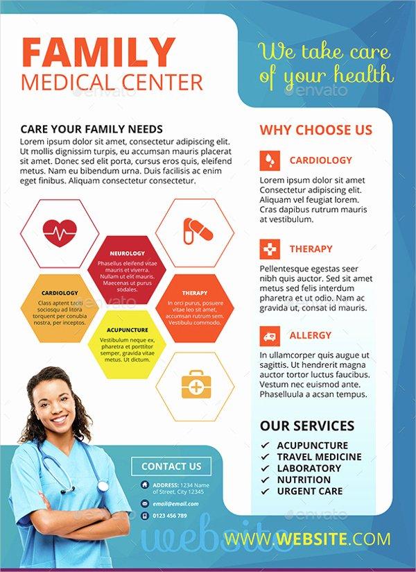 Medical Brochure Template Free Beautiful Free Medical Brochure Templates Csoforumfo