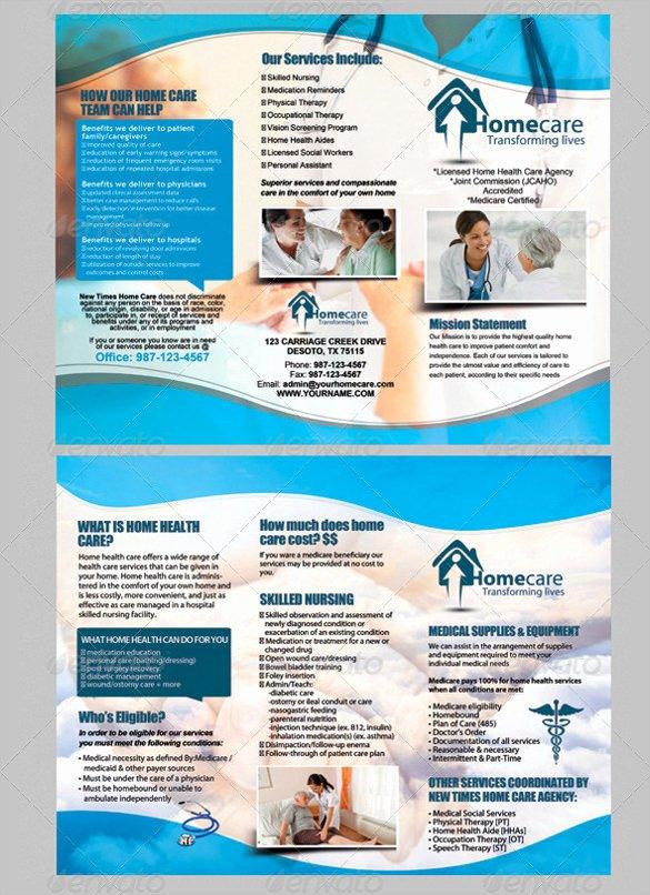 Medical Brochure Template Free Beautiful Medical Brochure Templates – 41 Free Psd Ai Vector Eps