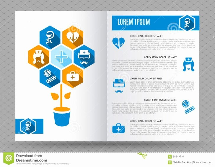 Medical Brochure Template Free Lovely Brochure Medical Brochure Template
