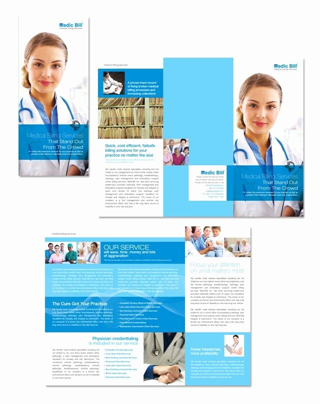 Medical Brochure Template Free Luxury 17 Best Images About Healthcare On Pinterest