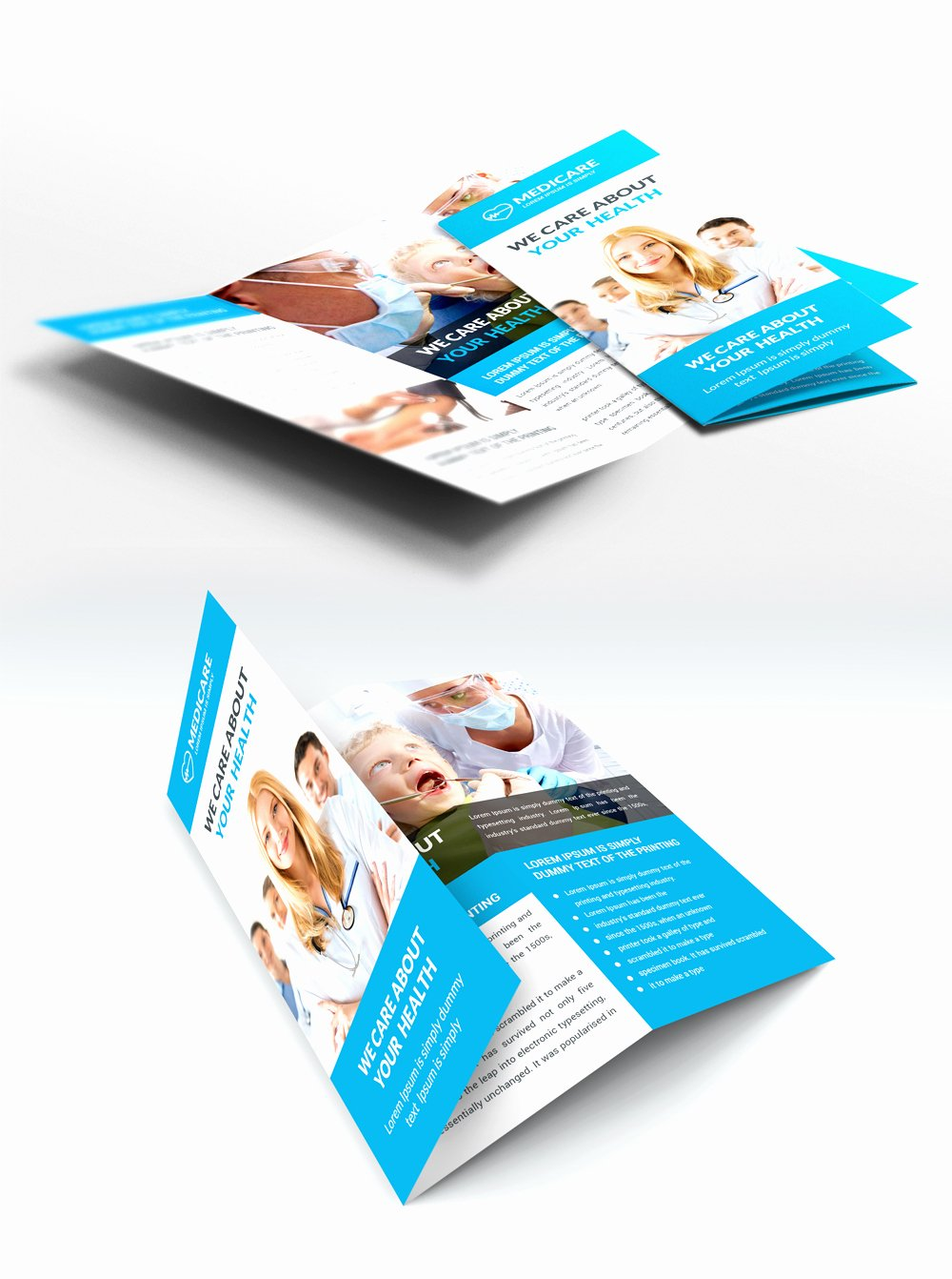 Medical Brochure Template Free Luxury Download Free Medical Care and Hospital Trifold Brochure