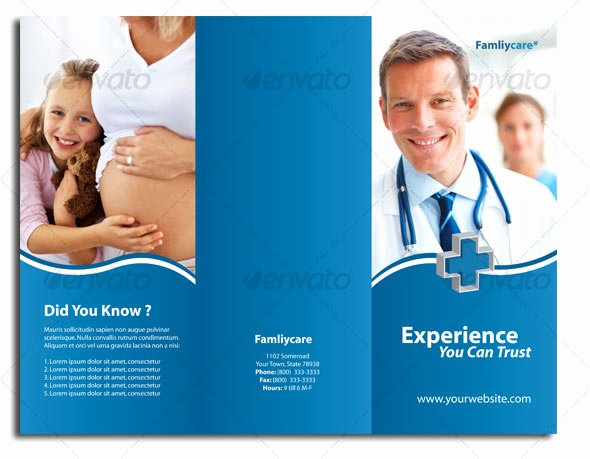 Medical Brochure Template Free New 12 Free & Premium Medical Brochure Templates – Design Freebies