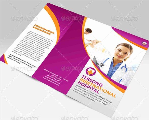Medical Brochure Template Free Unique Medical Brochure Templates – 41 Free Psd Ai Vector Eps