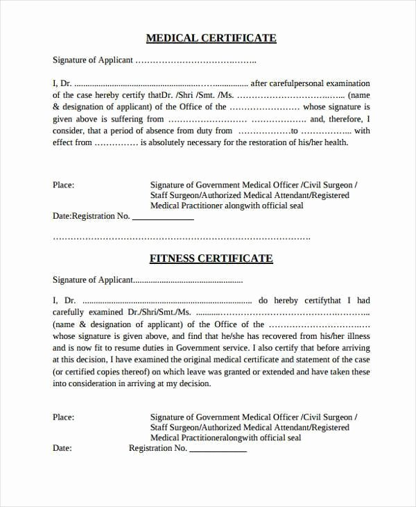 Medical Clearance Letter Template Unique Example Medical Clearance Letter for Surgery