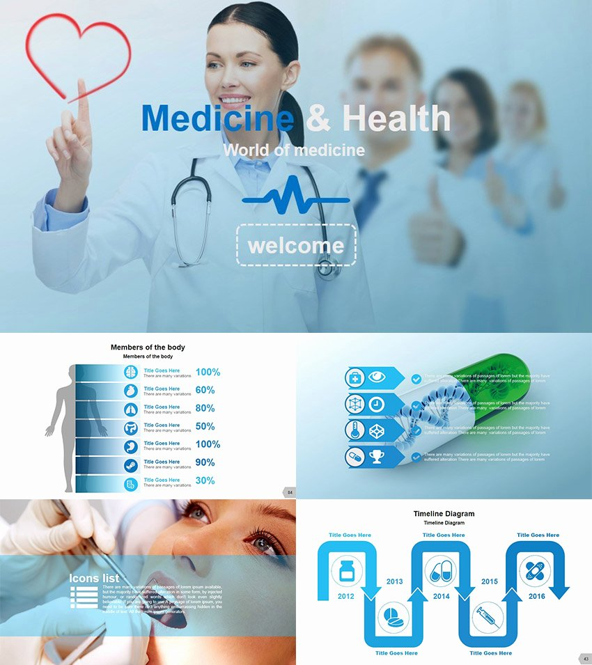 Medical Ppt Template Free Awesome 25 Medical Powerpoint Templates for Amazing Health