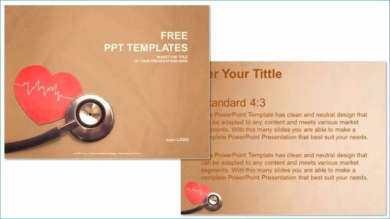 Medical Ppt Template Free Awesome Free Healthcare Powerpoint Templates