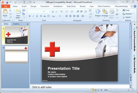 Medical Ppt Template Free Awesome Premium & Free Powerpoint Templates and Backgrounds for