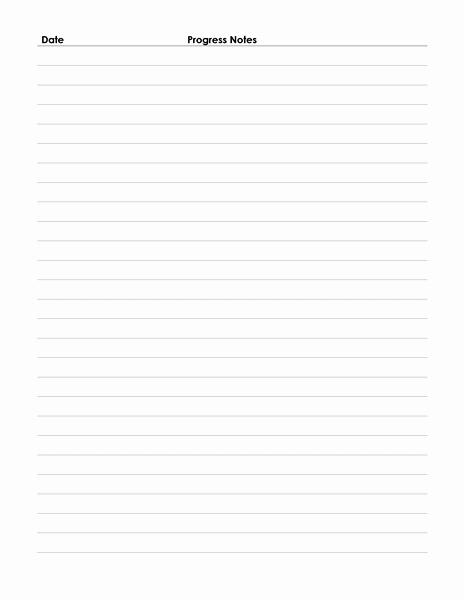 Medical Progress Notes Template Elegant 4 Best Of Printable Progress Note form Medical