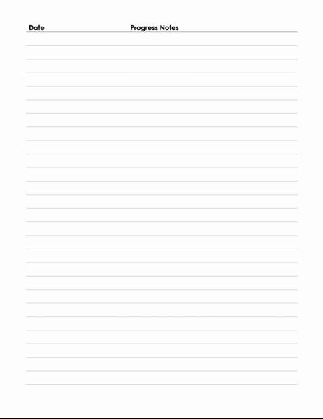 Medical Progress Notes Template Unique Patient Progress Notes