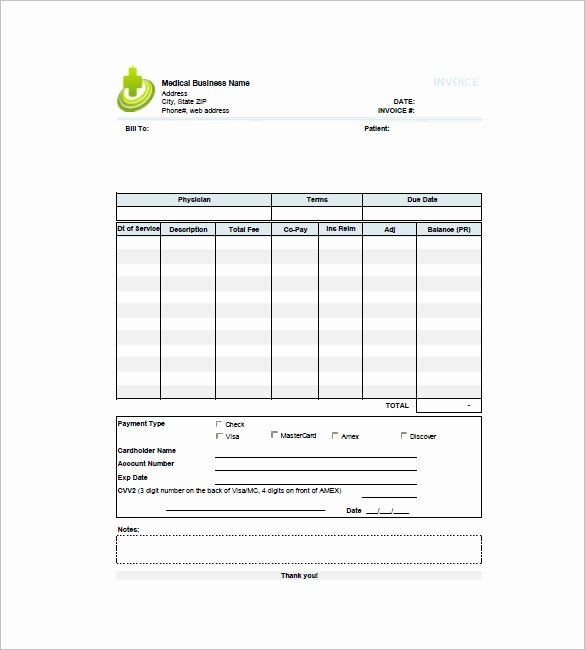 Medical Records Invoice Template Beautiful 16 Medical Invoice Templates Doc Pdf