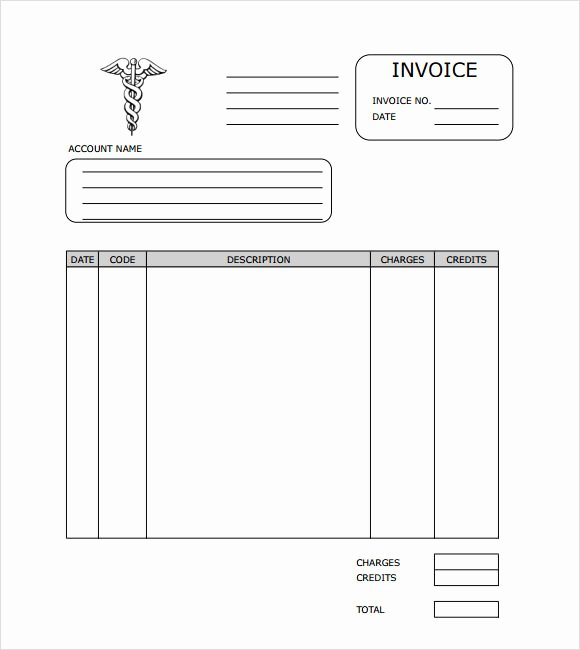 Medical Records Invoice Template Beautiful 9 Medical Invoice Templates – Free Samples Examples