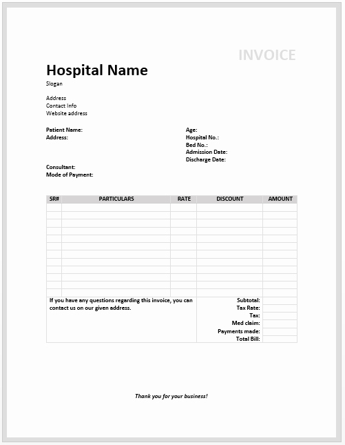 Medical Records Invoice Template Beautiful Expressexpense Custom Receipt Maker & Line Receipt