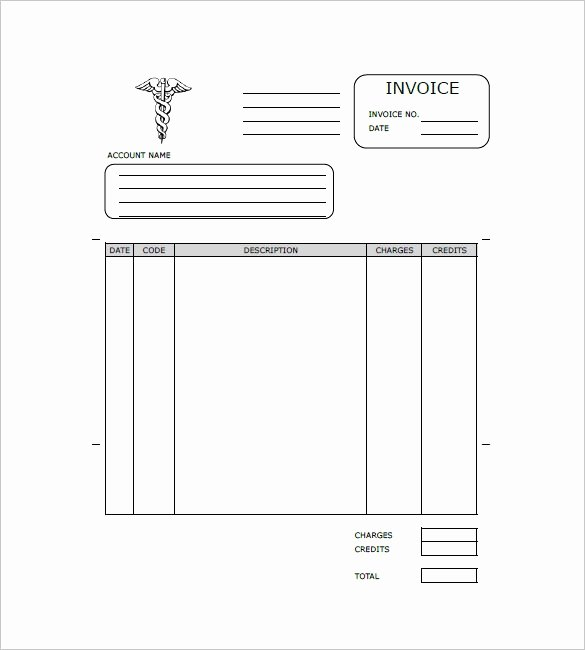 Medical Records Invoice Template Fresh Medical Records Invoice Template Release form In Word and