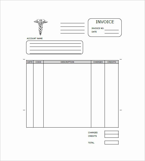 Medical Records Invoice Template New Medical and Health Invoice Templates 14 Free Word
