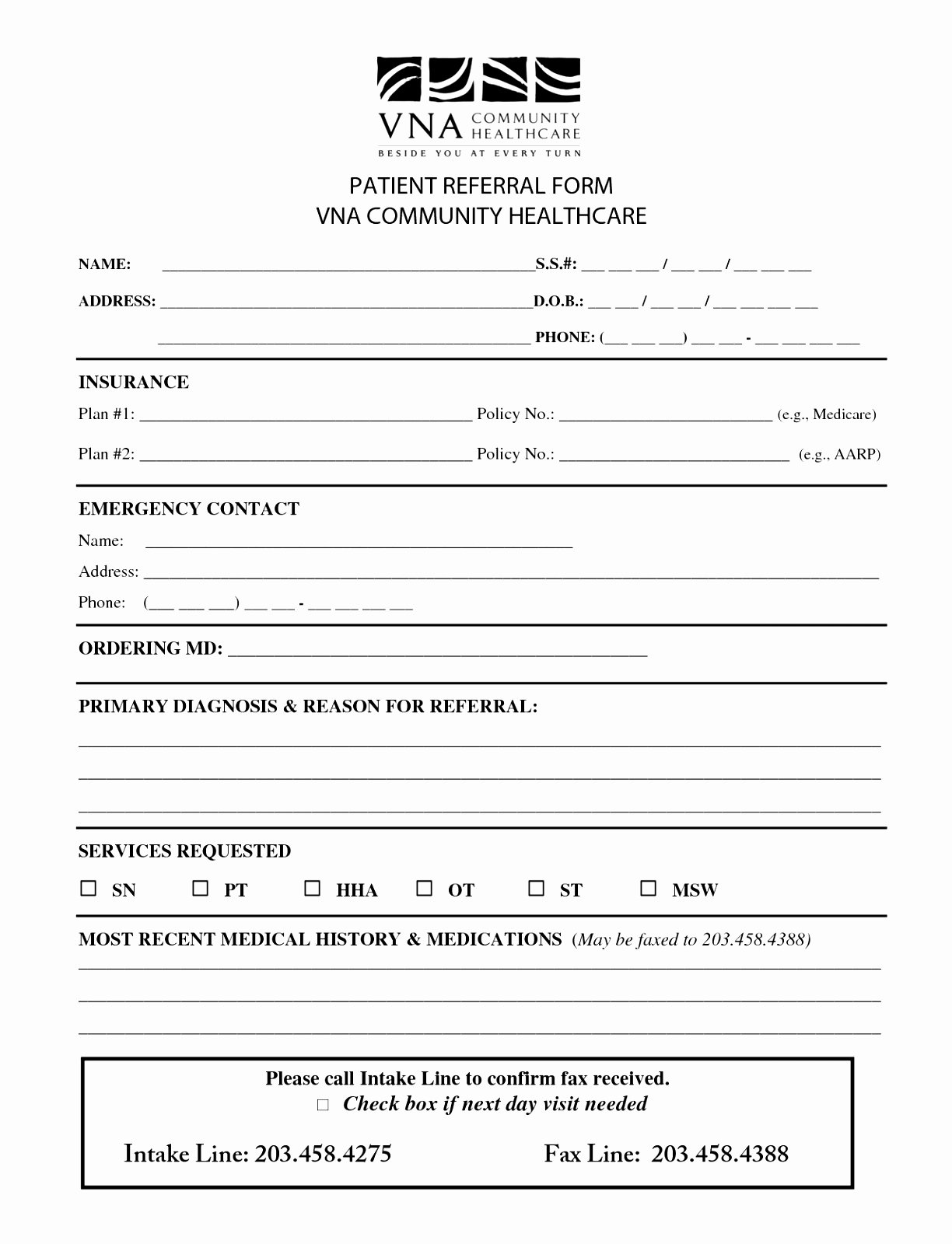 Medical Referral form Template Best Of 6 Counselling Referral form Template Uyefi