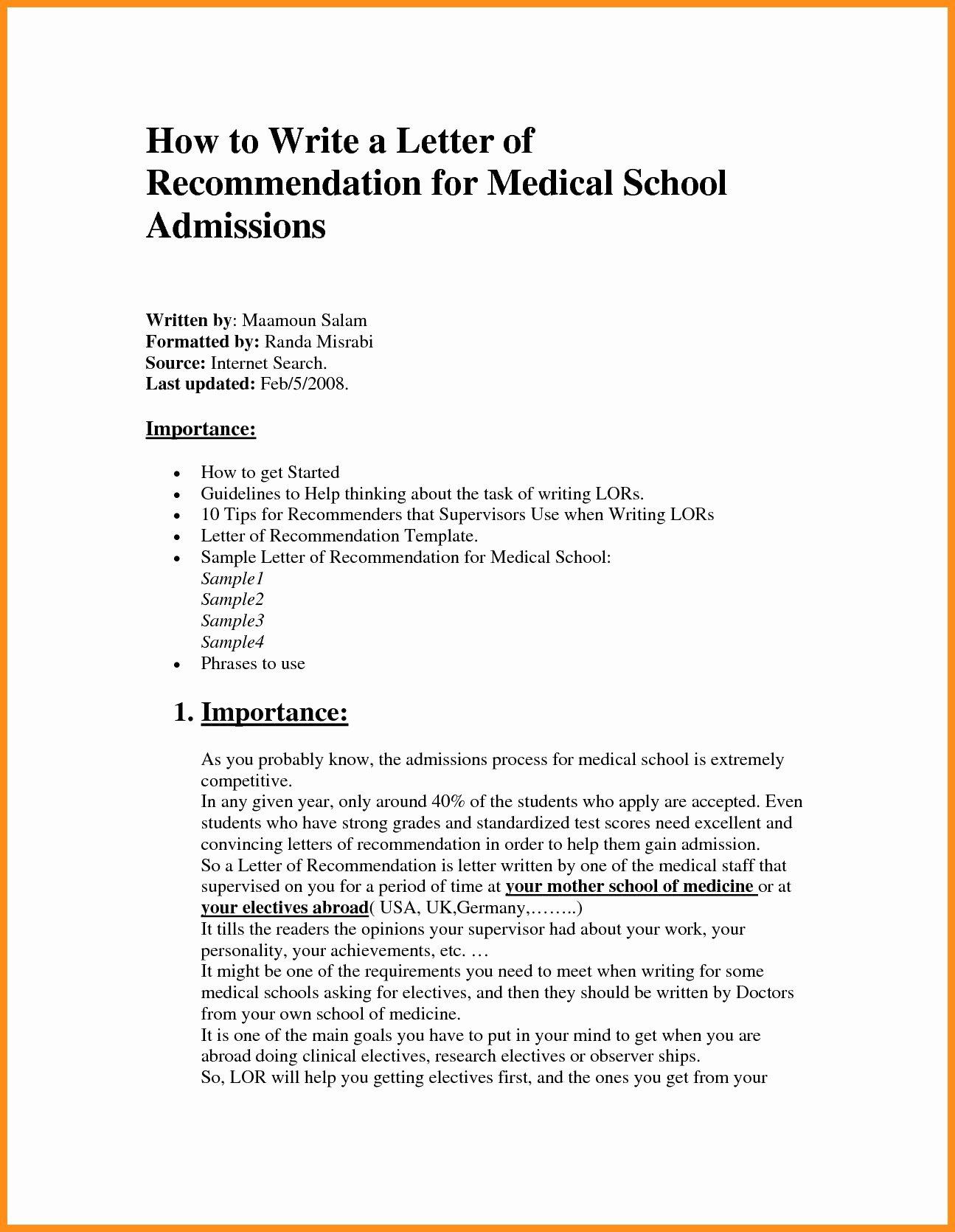 Medical Referral Letter Template Fresh Medical Referral Letter Template Samples