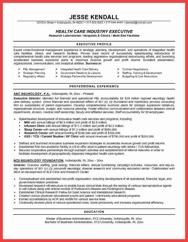 Medical Resume Template Free Awesome Resume Template Healthcare