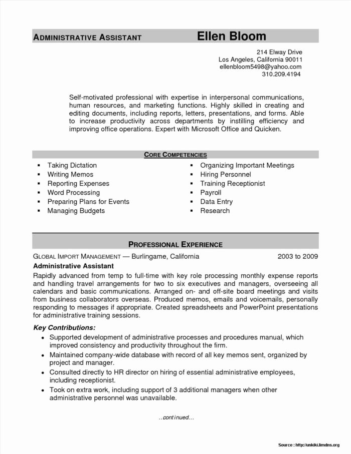 Medical Resume Template Free Luxury Sample Resume for Front Fice Medical assistant Resume