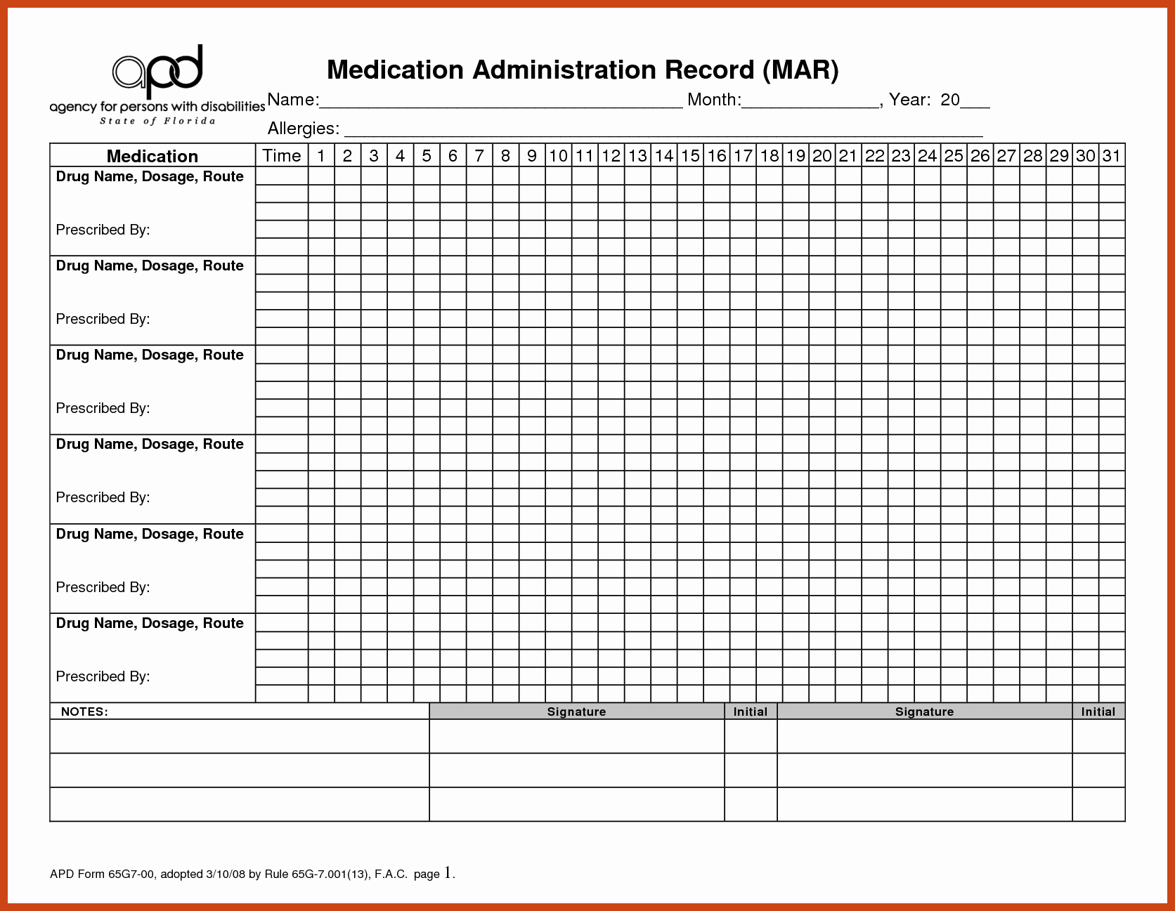 Medication Administration Records Template Best Of Mar Template Mar Chart Template