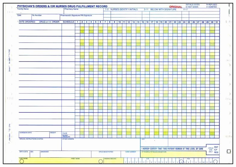 Medication Administration Records Template Elegant 28 Of Medication Administration Record Template